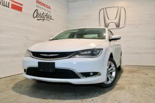 Used 2015 Chrysler 200 Berline 4 portes Limited, traction avant for sale in Blainville, QC