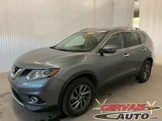 Used 2016 Nissan Rogue SL AWD GPS Cuir Toit Panoramique MAGS Bluetooth *Traction intégrale* for sale in Shawinigan, QC