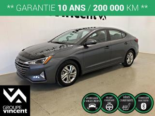 Used 2020 Hyundai Elantra PREFERRED 0% 84 MOIS ** GARANTIE 10 ANS ** Liquidation démonstrateur! Rabais de 2185$. for sale in Shawinigan, QC