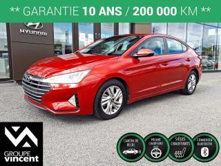 Used 2020 Hyundai Elantra Preferred ** GARANTIE 10 ANS ** Voiture compacte au design et à l'ingénierie d?une exceptionnelle qualité à tout point de vue! for sale in Shawinigan, QC