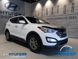 Used 2016 Hyundai Santa Fe PREMIUM 2.4 AWD BANCS/VOLANT CHAUFFANTS for sale in Sherbrooke, QC