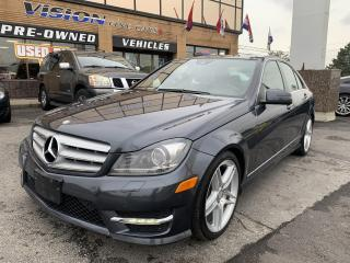 Used 2013 Mercedes-Benz C-Class 4dr Sdn C 350 4MATIC /NAVIGATION for sale in North York, ON