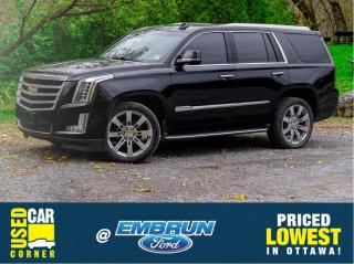 Used 2015 Cadillac Escalade LUXURY for sale in Embrun, ON