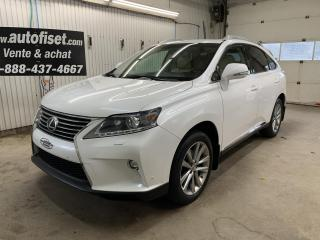 Used 2015 Lexus RX 350 AWD 4DR SPORTDESIGN for sale in St-Raymond, QC