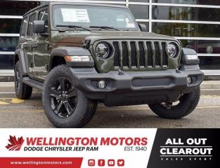 New 2021 Jeep Wrangler Sport Altitude for sale in Guelph, ON