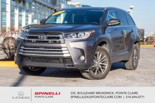 Used 2018 Toyota Highlander **XLE AWD** *NAVIGATION*ANGLE MORT*SYSTEME PRE COLLISION*AVERTISSEUR CHANGEMENT DE VOIE*CAMERA DE RECUL*CUIR* for sale in Montréal, QC