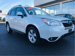 Used 2014 Subaru Forester 5dr Wgn Auto 2.5i touring,toit, for sale in Lévis, QC