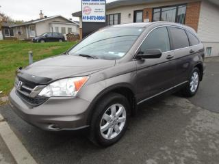 Used 2011 Honda CR-V 4WD for sale in Ancienne Lorette, QC