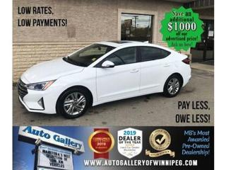 Used 2020 Hyundai Elantra Preferred* Roof/B.cam/Htd seats for sale in Winnipeg, MB