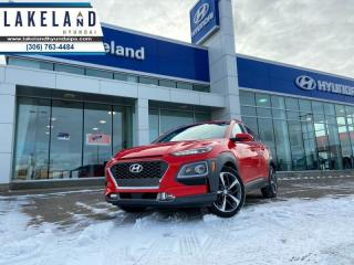 Used 2018 Hyundai KONA 1.6T Ultimate  - $187 B/W - Low Mileage for sale in Prince Albert, SK