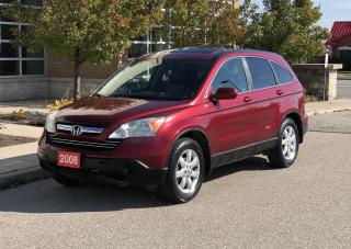 Used 2008 Honda CR-V EX-L,EX-L for sale in Brampton, ON