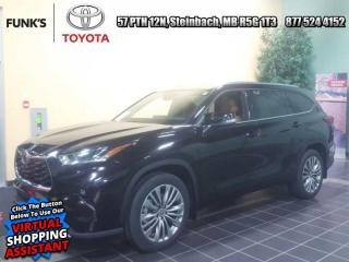 New 2021 Toyota Highlander Platinum for sale in Steinbach, MB