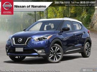 New 2020 Nissan Kicks SR for sale in Nanaimo, BC