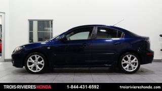 Used 2008 Mazda MAZDA3 GT + A/C + TOIT + MAGS ! for sale in Trois-Rivières, QC