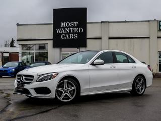 Used 2017 Mercedes-Benz C 300 C300 4MATIC Sedan for sale in Kitchener, ON
