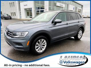 Used 2019 Volkswagen Tiguan 2.0T Trendline 4Motion AWD - LOW KMS for sale in PORT HOPE, ON
