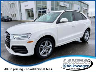Used 2018 Audi Q3 Komfort FrontTrak - LOW KMS for sale in PORT HOPE, ON