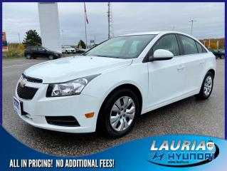 Used 2014 Chevrolet Cruze 1LT for sale in Port Hope, ON