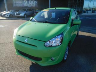 Used 2014 Mitsubishi Mirage 4dr HB CVT SE,A/C,CRUISE,BANC CHAUFFANT for sale in Mirabel, QC
