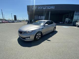 Used 2013 Kia Optima Hybrid Base,MAGS,A/C,CRUISE,BLUETOOTH,CAMERA for sale in Mirabel, QC