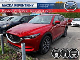 Used 2017 Mazda CX-5 GT AWD CUIR BLANC BOSE GPS TOIT BAS KM 8 for sale in Repentigny, QC