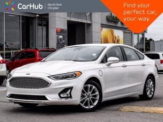 Used 2020 Ford Fusion Energi Titanium Hybrid Sunroof Sony Sound Heated & Vented Front Seats for sale in Thornhill, ON