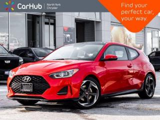Used 2019 Hyundai Veloster 1.6 Turbo Apple CarPlay Blind Spot Heated Front Seats Backup Camera for sale in Thornhill, ON