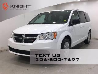 Used 2018 Dodge Grand Caravan SXT for sale in Regina, SK