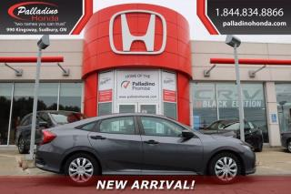 Used 2016 Honda Civic SEDAN LX for sale in Sudbury, ON