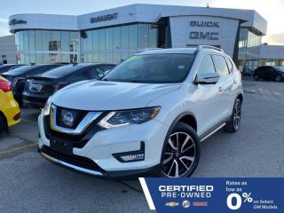 Used 2017 Nissan Rogue SL Platinum AWD | Heated Seats & Steering Wheel for sale in Winnipeg, MB