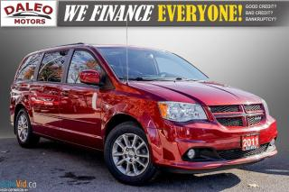Used 2011 Dodge Grand Caravan R/T / 7 PASSENGERS / LEATHER / NAVI / BACK UP CAM for sale in Hamilton, ON