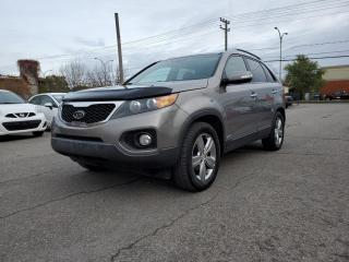Used 2013 Kia Sorento AWD V6 EX Luxury *CUIR*TOIT*CAMERA* 70$/SEM for sale in St-Jérôme, QC