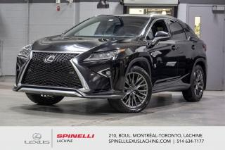 Used 2016 Lexus RX 350 F SPORT II AWD; CUIR TOIT GPS ANGLE MORT MAGS 20'' NAVIGATION - TOIT-OUVRANT - VOLANT CHAUFFANT - MONITEUR ANGLES MORT - HAYON ASSISTÉ - MAGS 20'' for sale in Lachine, QC