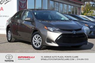 Used 2019 Toyota Corolla LE CAMÉRA DE RECUL, SIÈGES CHAUFFANT for sale in Pointe-Claire, QC