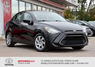 Used 2016 Toyota Yaris BAS KM! GROUPE ÉLECTRIQUE for sale in Pointe-Claire, QC
