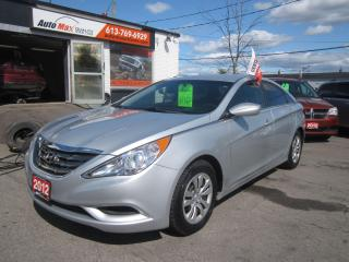 Used 2012 Hyundai Sonata GL for sale in Gloucester, ON