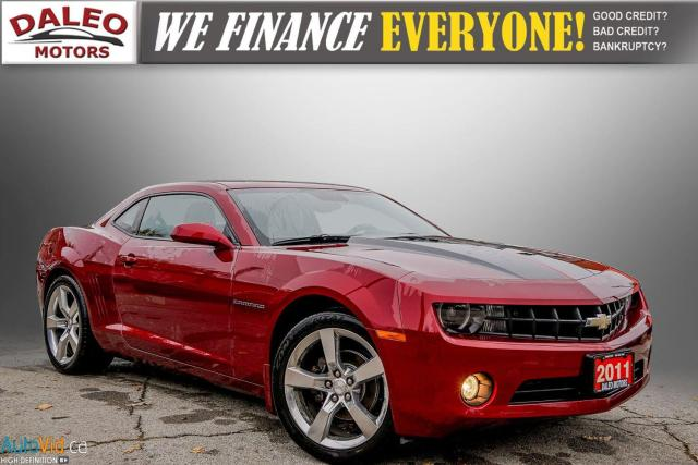 2011 Chevrolet Camaro 2LT /  6 SPEED MANUAL / LEATHER / MOONROOF /