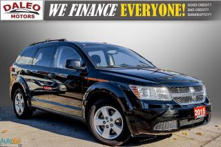 Used 2015 Dodge Journey SE Plus / 7 PASSENGERS / KEYLESS GO / for sale in Hamilton, ON