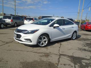Used 2016 Chevrolet Cruze 4dr Sdn Auto Premier LOW KM NO ACCIDENT 1OWNER NEW for sale in Oakville, ON