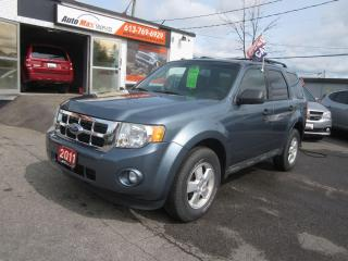 Used 2011 Ford Escape XLT for sale in Gloucester, ON