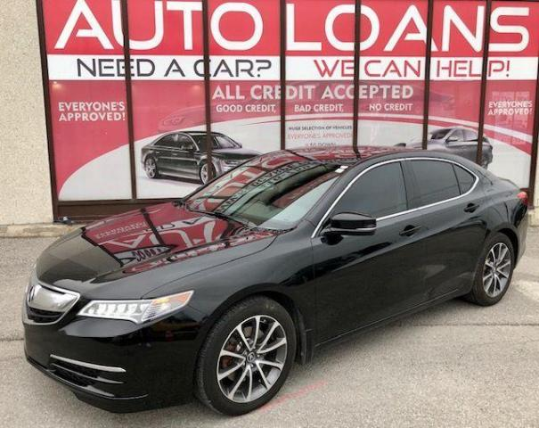 2017 Acura TLX SH-AWD-TEC-ALL CREDIT ACCEPTED
