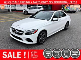 Used 2020 Mercedes-Benz C-Class C 300 for sale in Richmond, BC