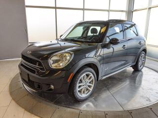 Used 2016 MINI Cooper Countryman Countryman - Sunroof - All Power Options! for sale in Edmonton, AB