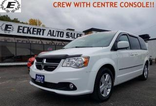 Used 2017 Dodge Grand Caravan Crew/STOW-N-GO/CENTRE CONSOLE!! for sale in Barrie, ON