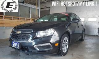 Used 2016 Chevrolet Cruze LT LIMITED WITH REVERSE CAMERA!! for sale in Barrie, ON