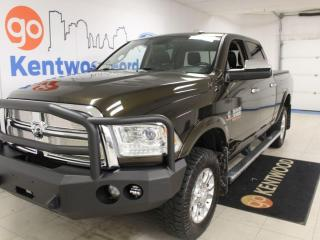 Used 2014 RAM 3500 3 MONTH DEFERRAL!!  DEISEL   Leather   Sunroof   NAV   4x4   LOW KM! for sale in Edmonton, AB