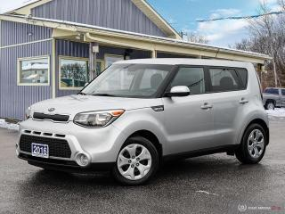 Used 2016 Kia Soul LX, ECO/SPORT, BLUETOOTH, USB for sale in Orillia, ON