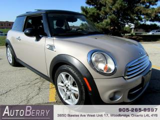 Used 2013 MINI Cooper Baker Street Edition - 6 Speed for sale in Woodbridge, ON