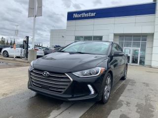 Used 2018 Hyundai Elantra LIMITED SE/NAV/LEATHER/SUNROOF/BSD/BACKUPCAM for sale in Edmonton, AB