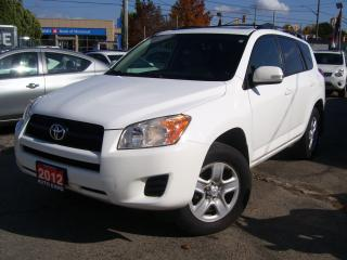 Used 2012 Toyota RAV4 CERTIFIED,BLUETOOTH, NO ACCIDENT,SUN ROOF,TINTED for sale in Kitchener, ON